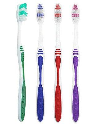 Escova Dental Média Sorriso Natural - 60 dúzias