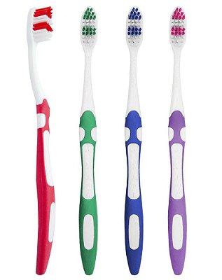 Escova Dental Média Dentes Protegidos - 60 dúzias