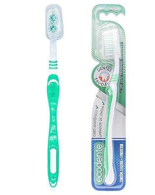 Escova Dental - Dentes Saudáveis - Solapa com 12 unidades