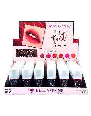 Lip Tint – Display com 24 unidades