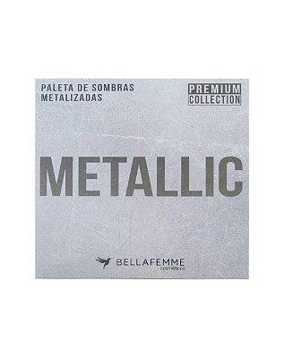 Paleta de Sombras Metallic