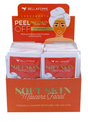 Máscara Peel Off Vitamina C – Display com 50 unidades