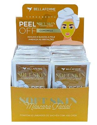Máscara Peel Off Camomila – Display com 50 unidades