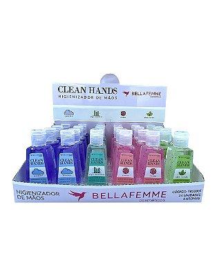 Álcool em Gel - Clean Hands - Caixa Fechada com 12 Displays