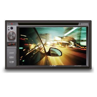 DVD Player UCB DM362BT 2-DIN c/ Bluetooth USB SD