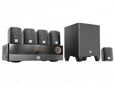 Home Theater JBL Cinema J5100 5.1 HDMI 4K e 3D