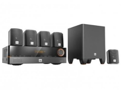 Home Theater JBL Cinema J5100 5.1 HDMI 4K e 3D - 220V