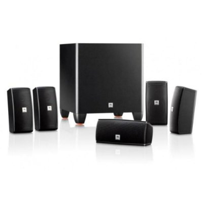 Conjunto de Caixas JBL Cinema 610 - 5.1 para Home Theater