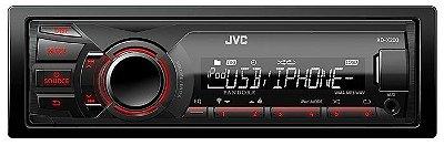 Media Receiver JVC KD-X200 com USB e entrada Aux
