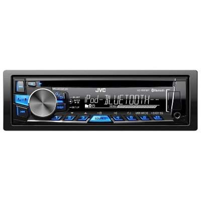 CD/MP3 Player JVC KD-R869BT com Bluetooth e Entrada USB/AUX Frontal