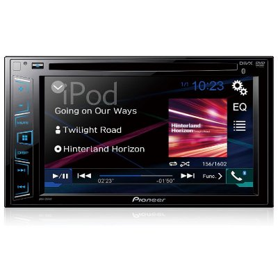 DVD Player Automotivo Pioneer AVH-288BT Tela 6,2'' com Bluetooth USB Entrada RCA