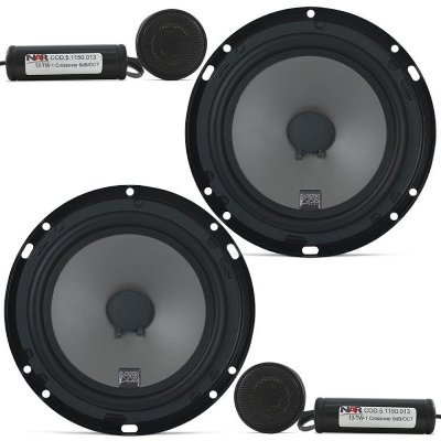SEMINOVO - Kit 2 Vias NAR Audio 600-CS-1 (6 pols. / 100W RMS)