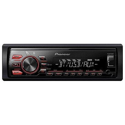 Media Receiver Pioneer MVH-288BT c/ USB e Bluetooth