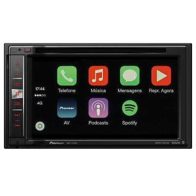 Central Multimídia Pioneer AVIC-F980TV com TV Digital, Bluetooth, GPS e Mixtrax