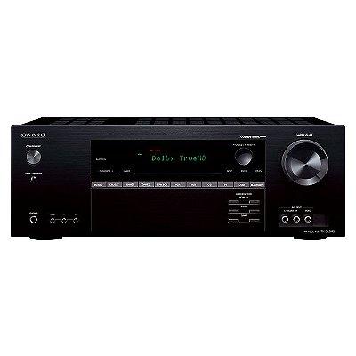Receiver Onkyo TX-SR343 5.1 Canais / 4K UltraHD / Bluetooth