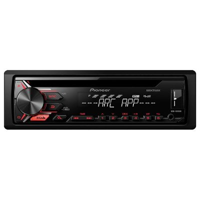 CD/MP3 Player Pioneer DEH-X1980UB c/ ent. USB, Mixtrax e ARC