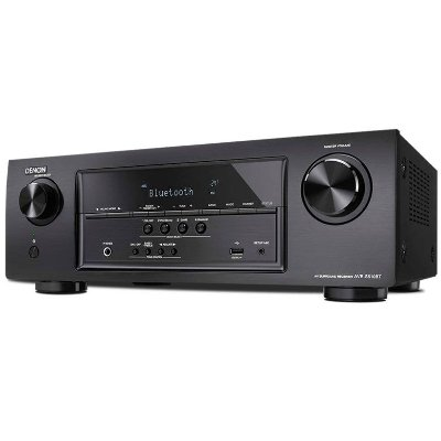 Receiver Denon AVR-S510BT - Multicanal 5.2, Tecnologia 4K, Ultra Full HD com Bluetooth