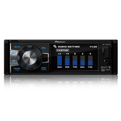 DVD Player Pioneer DVH-8880AVBT 3,5 Polegadas Retrátil 1 Din Bluetooth USB AUX