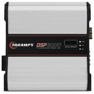Amplificador Taramps DSP3000 (1x 3592W RMS) / 2 Ohms