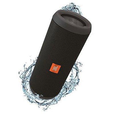 OFERTA - Caixa de Som JBL Flip 3 c/ Bluetooth e Resistente a Respingos