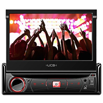 DVD Player UCB DR270 com entrada USB / SD / P2 e Tela Retrátil
