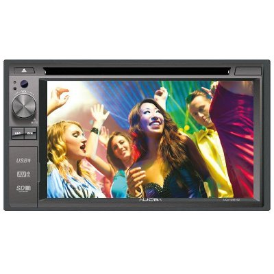 DVD Player UCB UCB-DM162 - Tela 6,2 USB/SD