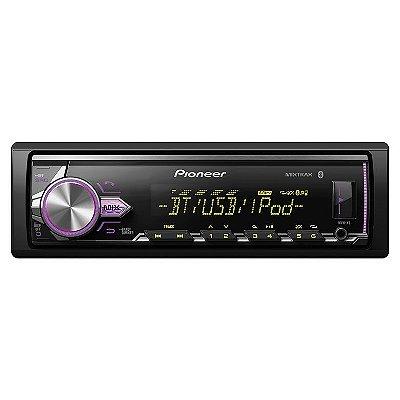MP3 Player Pioneer MVH-X3BR com Bluetooth / USB / AUX / Mixtrax / Flashing Light