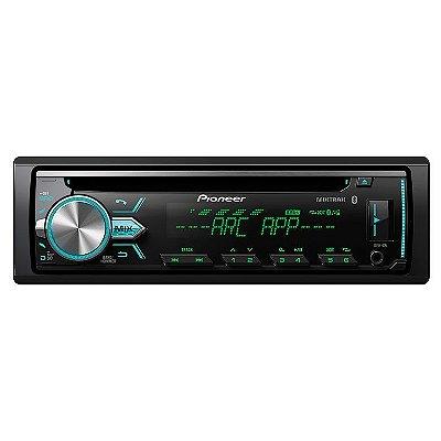 CD Player Pioneer DEH-X5BR com Bluetooth / USB / AUX / Mixtrax / Flashing Light