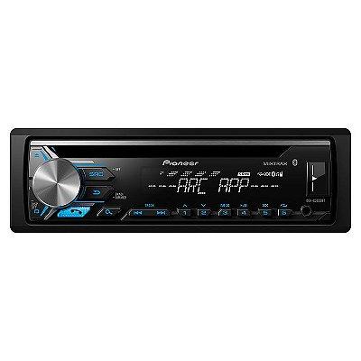 CD Player Pioneer DEH-X3980BT com Bluetooth USB AUX Mixtrax