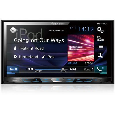 DVD Player Pioneer AVHX5880TV 7 Polegadas - Tv Digital / Bluetooth / USB / AUX e MIXTRAX