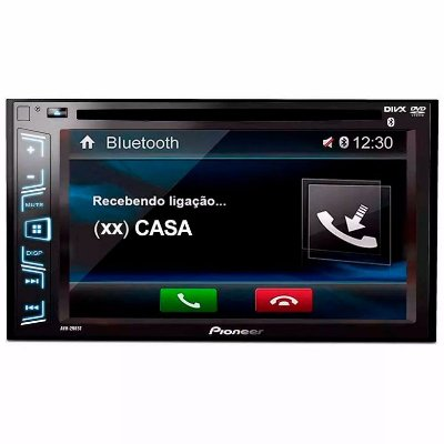DVD Player Pioneer AVH-298BT 6.2 Pols. - 2 DIN / Bluetooth / USB / AUX
