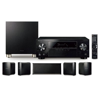 Home Theater Pioneer HTP-074 - 5.1 Ultra HD 4K, HDR e Bluetooth - 110v