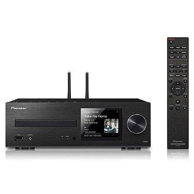 Amplificador de Áudio Residencial Pioneer XC-HM86 - DSD, Bluetooth e Wi-Fi