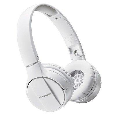 Fone de Ouvido Pioneer SE-MJ553BT com Bluetooth - Branco