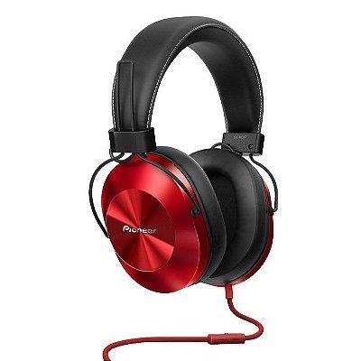 Fone de Ouvido Pioneer SE-MS5T com Microfone - Vermelho