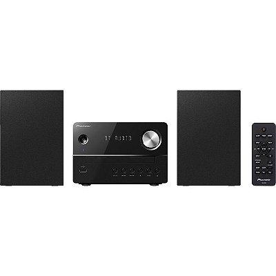 Micro System Pioneer X-EM26 com Bluetooth, CD, Rádio FM, MP3 e USB