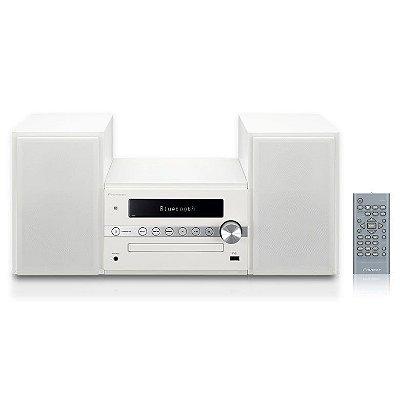Micro System Pioneer X-CM56W com Bluetooth, USB, NFC e MP3 - Branco