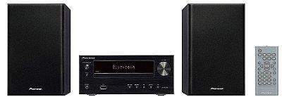 Micro System Pioneer X-HM26 com Bluetooth, USB, CD e Rádio FM - 110v
