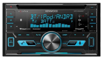 CD/MP3 Player Kenwood DPX-592BT com Bluetooth e Aux
