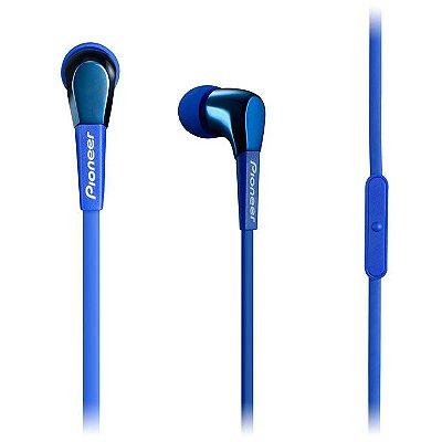 Fone de Ouvido Pioneer SE-CL722T com Microfone - Azul