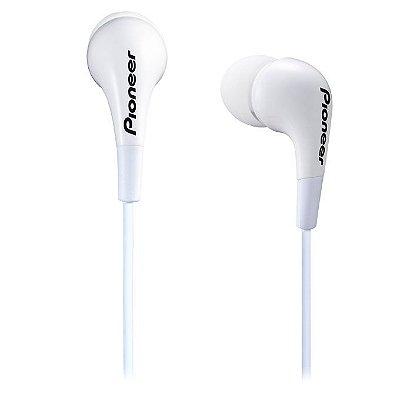 Fone de Ouvido Pioneer SE-CL502 - Branco