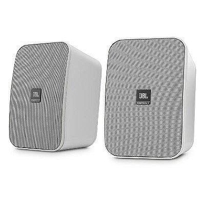 Caixas de Som JBL Control X p/ uso Interno e Externo - Branco