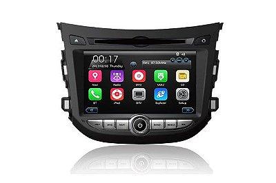 Central Multimídia TayTech Hyundai HB20 - DVD TV GPS USB SD