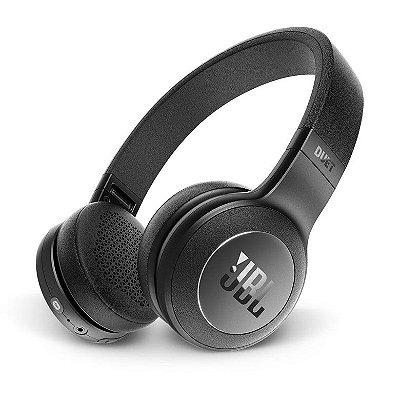 Fone de Ouvido JBL Duet On Ear com Bluetooth - Preto