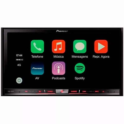 Central Multimídia Pioneer AVIC-F80TV - DVD TV GPS USB MIXTRAX CARPLAY