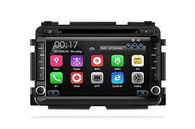 Central Multimídia TayTech Honda HRV - DVD TV GPS USB SD