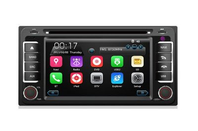 Central Multimídia TayTech Toyota Hilux - 2006 até 2014 - DVD TV GPS USB SD