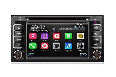 Central Multimídia TayTech Toyota Corolla - 2004 até 2007 - DVD TV GPS USB SD