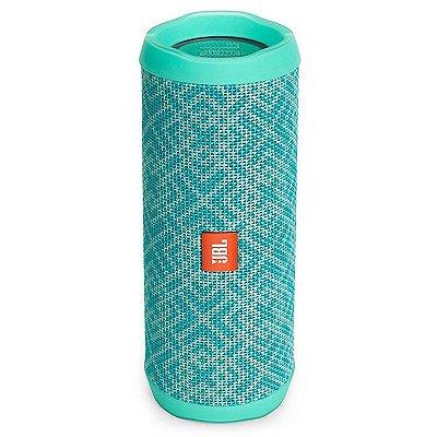 Caixa de Som  JBL FLIP 4 com Bluetooth e Prova de Água - Mosaic