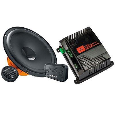 Combo: Kit 2 Vias Hertz DSK165.3 + Amplificador JBL BR-A300.2